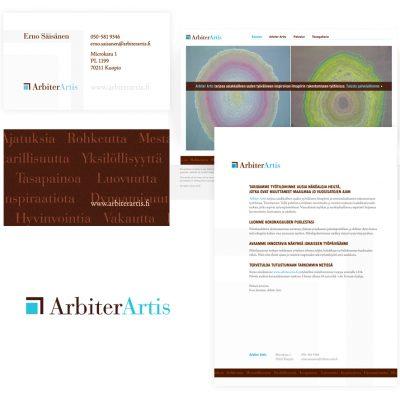 Yksi monista yritysilmeistä, Arbiter Artis