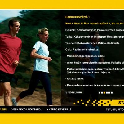 Nike, Start to Run